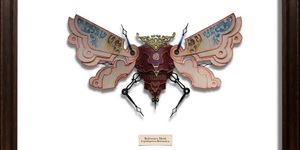 Bug Sculptures Made From Litter By Mark Oliver
