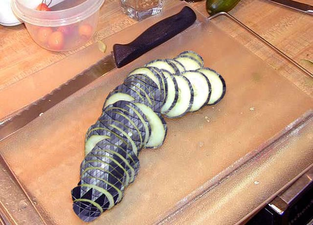We're still trying to figure out how reader Medo chopped up the Gherkin in 2007.