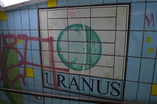 Uranus is filthy. Sniggers.