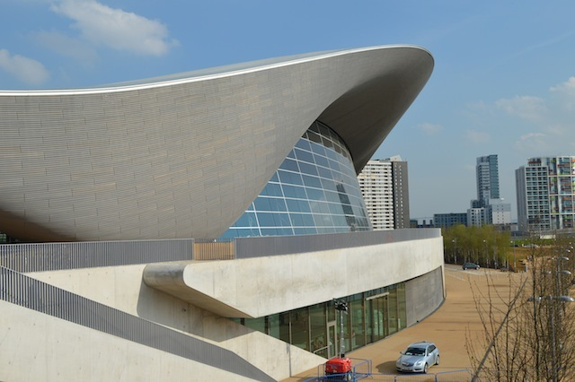 The Aquatics Centre has been open for a few weeks. Anyone can now turn up and take a swimming session at a reasonable price. You might even catch Tom Daley, who uses the diving boards for training.