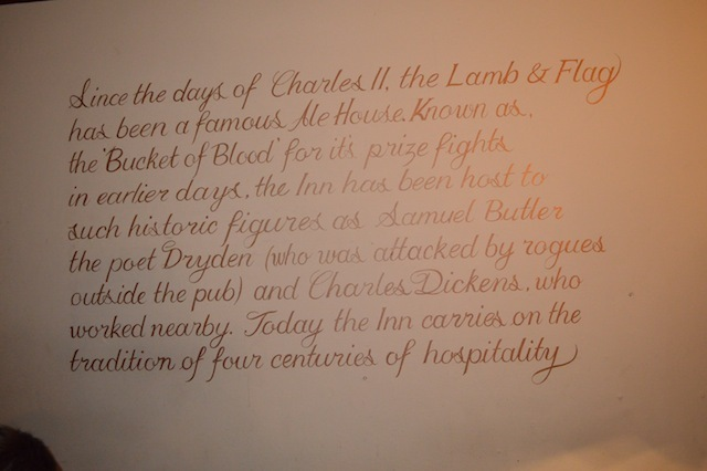 More on the pub's history.