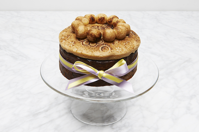 Simnel Cake at Melrose and Morgan