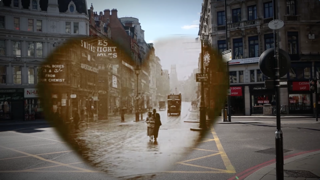 This Video Beautifully Blends Old And New London