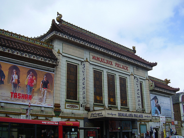 Himalaya Palace Cinema, Southall, by Glen