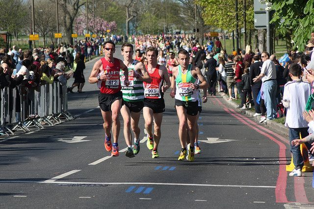 Runners at Ha Ha Road in Charlton / by Hilly