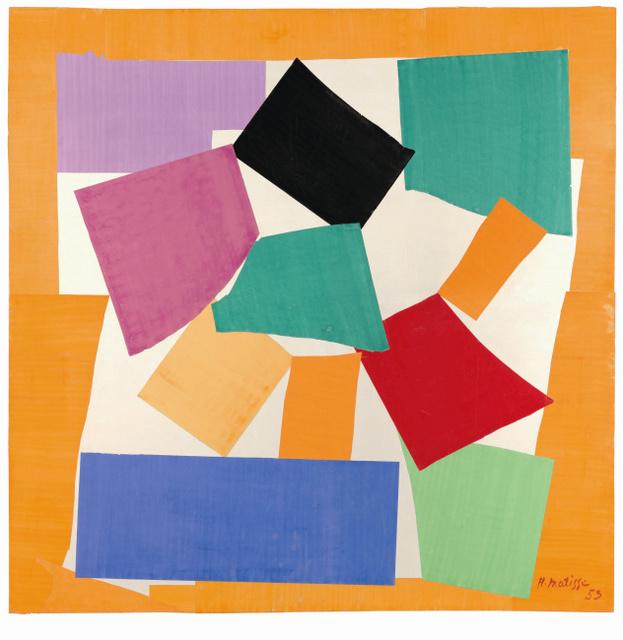 Henri Matisse, The Snail 1953 Tate © Succession Henri Matisse/DACS 2013