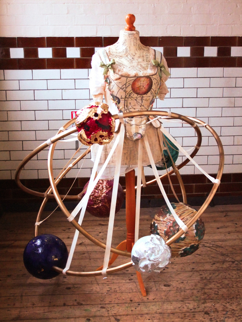 Orrery dress, Copyright Jema Hewitt. Image courtesy Royal Museums Greenwich