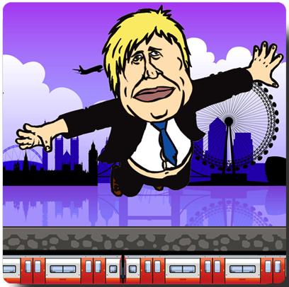 Flappy Mayor: Starring Boris Johnson And Bob Crow's Head