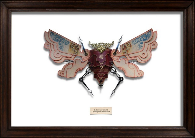 Mark Oliver, Reference Moth. Image courtesy and copyright of the artist.