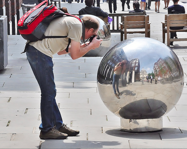 Spherical selfie, by John Kortland on Flickr