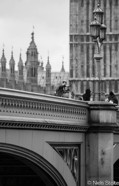 Selfie on Westminster Bridge, by Niels Stolte on Flickr