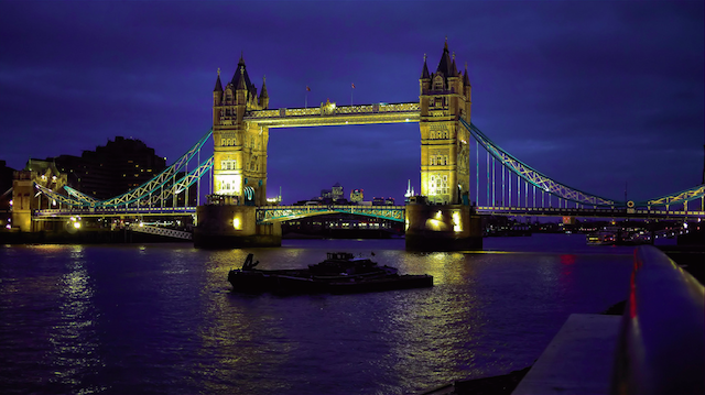 A night view of Tower Bridge, by Martyn II on Flickr