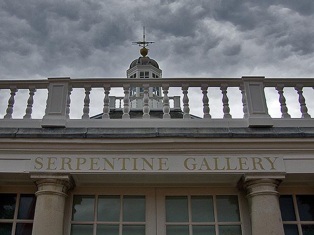 Serpentine Gallery by Chris Beckett