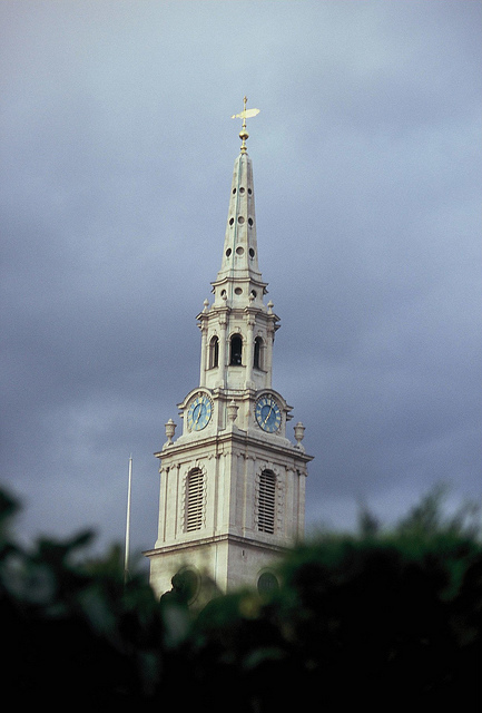 St Martin in the Fields by Edward Simpson