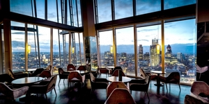 London's Highest-Up Restaurants