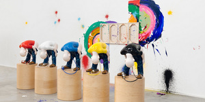 Humorous Art By Richard Jackson At Hauser And Wirth