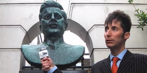 An Interview With John F Kennedy's Statue
