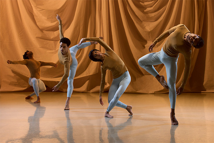 Rambert Dance Company in Sounddance. Image: Chris Nash