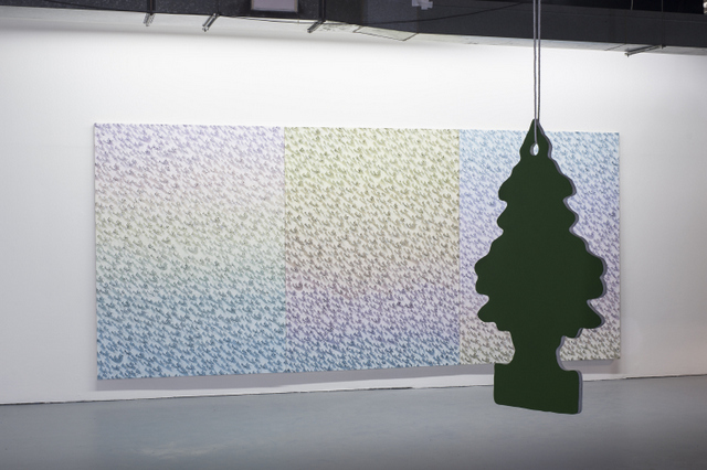 Neil Raitt, installation view. Image courtesy of Catlin Art Prize and Peter Hope