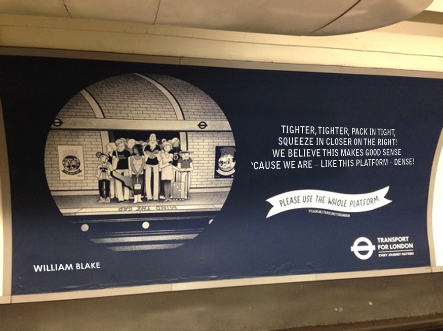 We wish the Tube etiquette posters were as blunt as these...