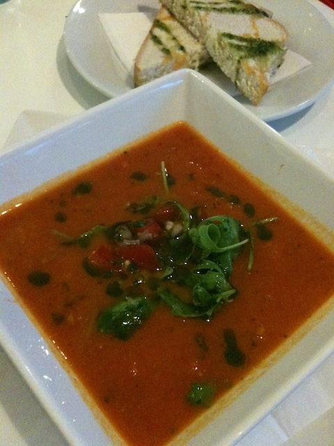 Tomato and chilli soup