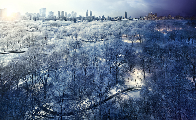 Stephen Wilkes. Central Park Snow, 2010. Image courtesy of the artist and MEKA.