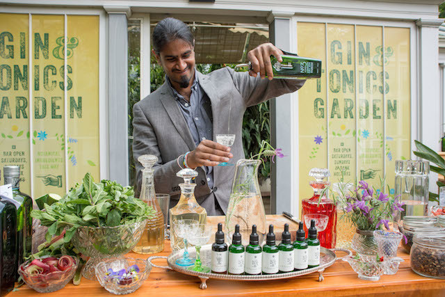 A Gin & Tonic Garden can be found in the Secluded Garden Glasshouse