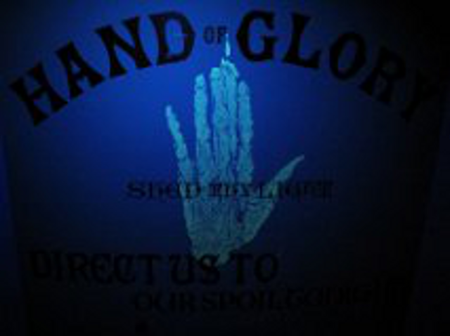 Hand of Glory - Letterpress print by Richard Ardagh (New North Press)