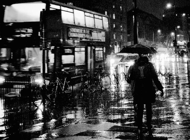 Man against the elements by Ian Brumpton