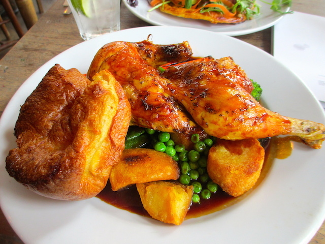 One hell of a good roast chicken.