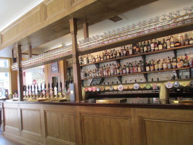 You've heard the phrase 'well-stocked bar', right? Well this is it.