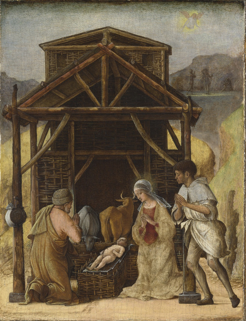 Ercole de' Roberti Nativity, about 1490-93 © The National Gallery, London