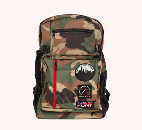PONY X ROTHCO MILITARY BAG CAMO £70.00