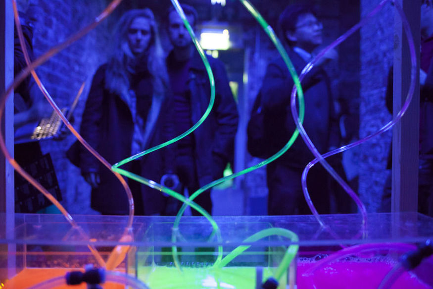 Art Meets Quantum Physics At Shoreditch Town Hall