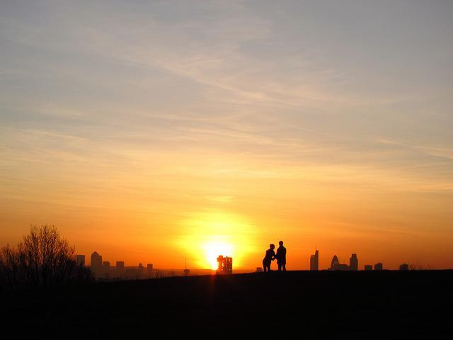 Start the day watching the sun rise over Parliament Hill. Image: Laura Nolte
