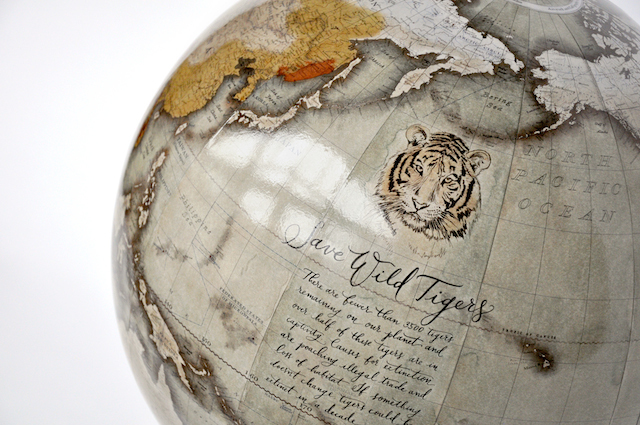Tiger Globe by Peter Bellerby at THRIVE