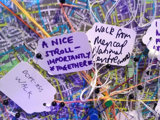 Good comments from walkers and cyclists. Aw, *together*