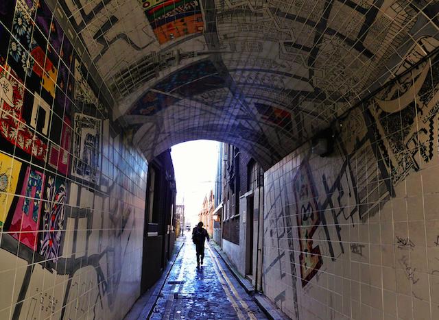 'A-Z Street', Whitechapel, by unslugged