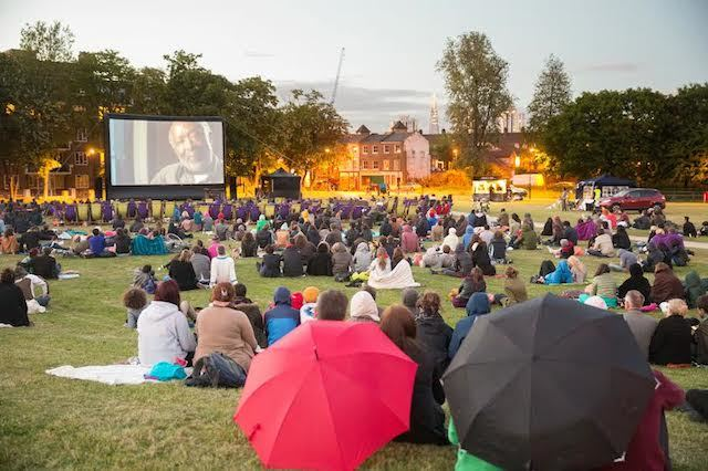Free Outdoor Film Screenings At Vauxhall Pleasure Gardens