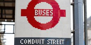 Wait At The LEGO Bus Stop On Regent Street