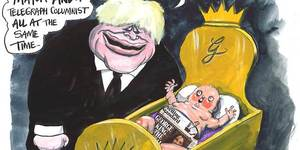 Satirical City: Martin Rowson's London Cartoons