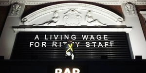 Film Director Ken Loach Hits Out At Brixton Ritzy Owners