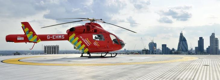 london's air ambulance