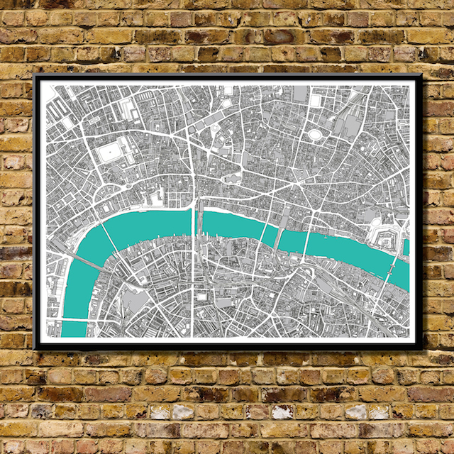 01 london art map print bronagh kennedy a1