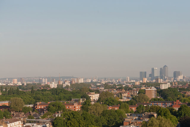 View from the Woodberry Grove flat