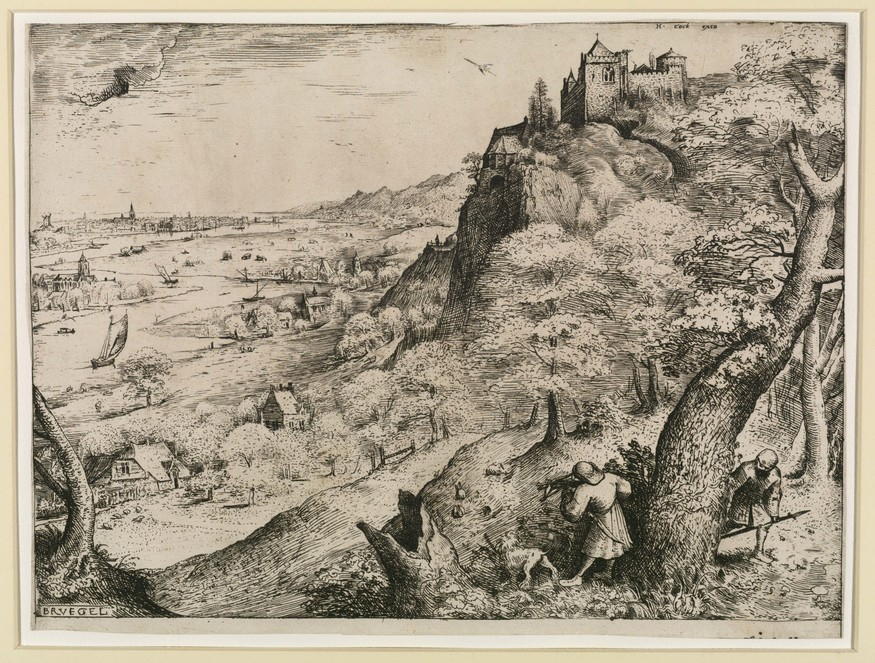 Pieter Bruegel the Elder, 'Rabbit Hunt', 1560
