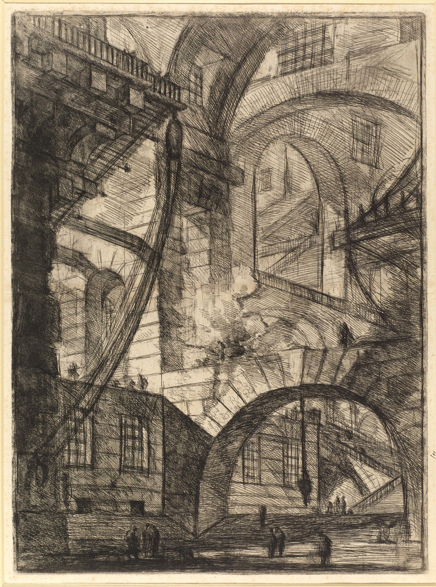 Giovanni Battista Piranesi, 'Smoking Fire', 1749-60