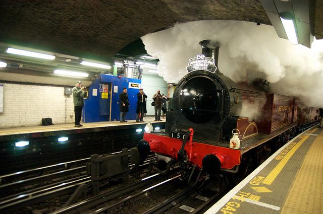 Train Lever In Lodon : Ticket alert steam trains on the underground this summer