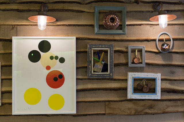 Art Takeover at Muriel's Kitchen. Photo: AJ Heath. Image courtesy of Loughran Gallery