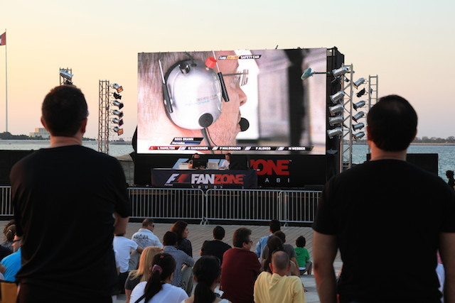 Watch the action on a big screen